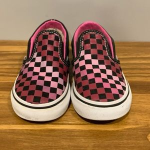 Vans Off The Wall Checkerboard Skate Shoes EUC